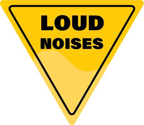 LOUD Noises Warning